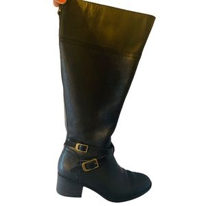 Timeless / Leather/ Low Heal/ Wide Calf / Boots